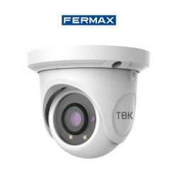 CAMARA DE SEGURIDAD MINIDOMO IP TBK-MD7525EIR OPTICA FIJA RESOLUCION 1920X1080 FERMAX 341501021