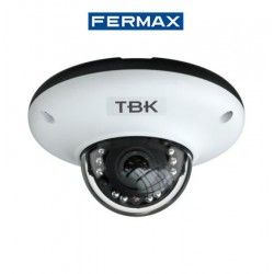 CAMARA DE SEGURIDAD MINIDOMO IP TBK-MD7541EIR OPTICA FIJA RESOLUCION 2592X1520 FERMAX 341501023