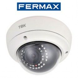 CAMARA DE SEGURIDAD HD-TVI TBK-MD5432EIR OPTICA FIJA RESOLUCION 720P FERMAX 343101009