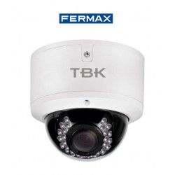 CAMARA DE SEGURIDAD MINIDOMO HD-TVI TBK-MD5843EIR 4IN1 RESOLUCION 1080P FERMAX 344201008