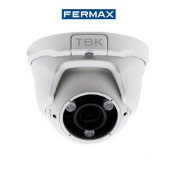 CAMARA DE SEGURIDAD MINIDOMO HD-TVI TBK-MD5743EIR 4IN1 VARIFOCAL RESOLUCION 1080P FERMAX 344201011
