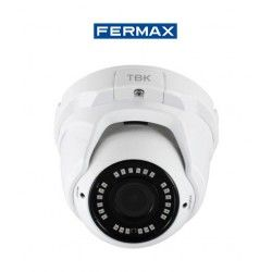 CAMARA DE SEGURIDAD MINIDOMO HD-TVI TBK-MD5752EIR 4IN1 VARIFOCAL RESOLUCION 1080P FERMAX 344201013