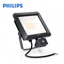 PROYECTOR LED 10W CON SENSOR 900 LUMENES 4000K PROTECCION IP65 PHILIPS 38486999