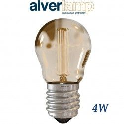 BOMBILLA LED DE FILAMENTO 4W REGULABLE ROSCA E27 2700-6000K ALVERLAMP LSFI0427W