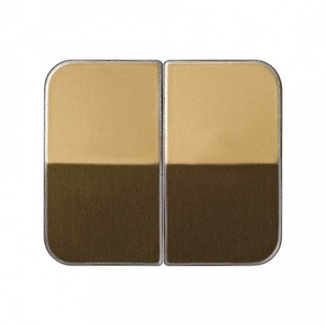 TECLA DOBLE BRONCE SIMON 75 75026-36