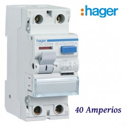 Diferencial 40a 300ma Hager CFC240M