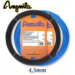 GUIA PASACABLES POLIESTER TRIPLE TRENZA TERMINAL INTERCAMBIABLE Ø 4,5MM ANGUILA 70450010